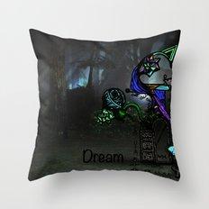 Dream.  Throw Pillow