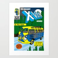 VWolverine Art Print