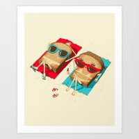 Toast Art Print