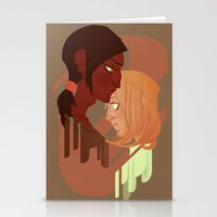 Ymir And Historia Stationery Cards