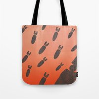 Living With Air Strikes … Tote Bag