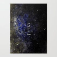 Stars Cant Shine Without… Canvas Print