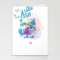 Cash Silk 001 Stationery Cards