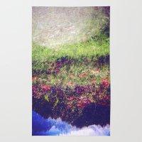 Flowers Plastic Camera D… Rug