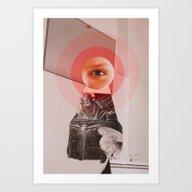 She´s Watching Me Art Print