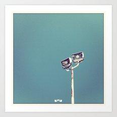 Skewered Light. Art Print