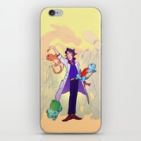 Je Ne Sais Quoi iPhone & iPod Skin