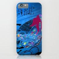 John 8/44+TheFish Nonrandom-art2 iPhone 6 Slim Case