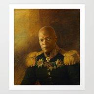 Samuel L. Jackson - Repl… Art Print