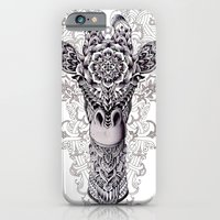 iPhone Cases featuring Giraffe by BIOWORKZ