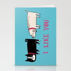 I Like You. Stationery Cards