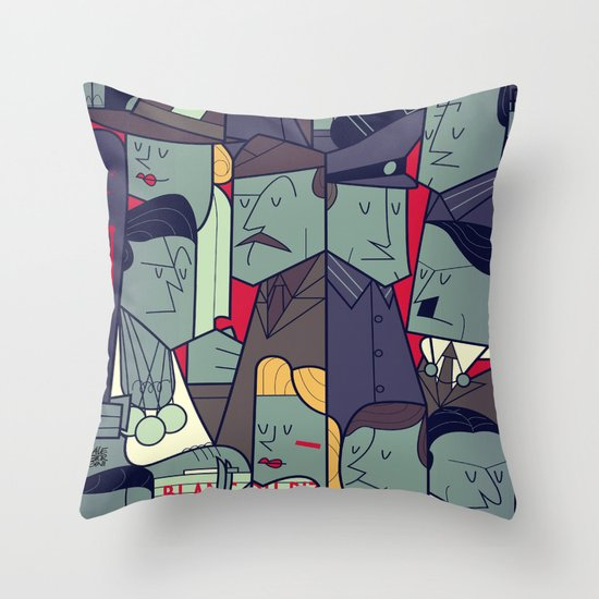 Inglourious Basterds Throw Pillow