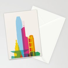 Shapes of Hong Kong. Accurate to scale Stationery Cards