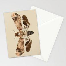 Acherontia Lachesis Stationery Cards