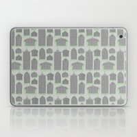 Birdcages (Gray) Laptop & iPad Skin