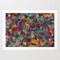 Simple Thing goes crazy Art Print