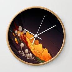 Breakdown Wall Clock