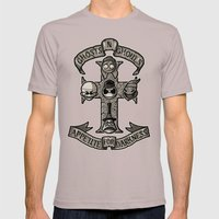 APPETITE FOR DARKNESS Mens Fitted Tee Cinder SMALL