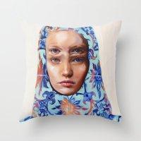 The Secret By Alex Garan… Throw Pillow
