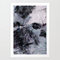 Lines And Texture 5 Art Print