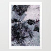 Lines & Texture 5 Art Print