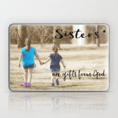 Sister's Are Gifts From … Laptop & iPad Skin