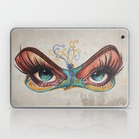 Butterflies Eyes Laptop & iPad Skin
