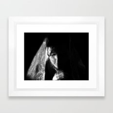 pray Framed Art Print