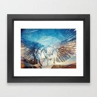 Solar Eclipse Flight - S… Framed Art Print