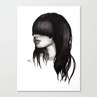 Bangz One Canvas Print