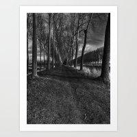 Damme, Belgium Art Print