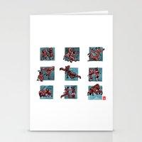 Capoeira 510+ Stationery Cards