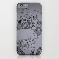 iPhone & iPod Case featuring pork by Dan Feit