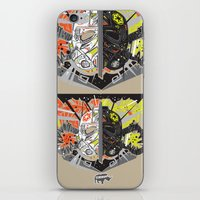 Nalubuff - The Fighters iPhone & iPod Skin