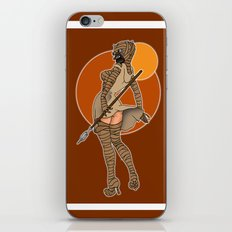 Star Wars tusken pinup iPhone & iPod Skin
