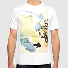 Fearful Symmetry White SMALL Mens Fitted Tee