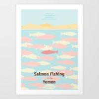 Salmon Fishing In The Ye… Art Print