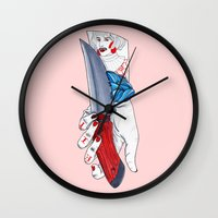 Well Shit Wall Clock