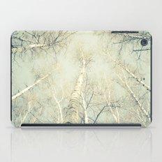 birch trees 1 iPad Case