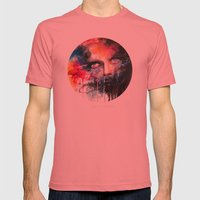 non parlarne mai Mens Fitted Tee Pomegranate SMALL
