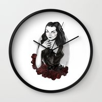 Maila Nurmi (Vampira) Wall Clock