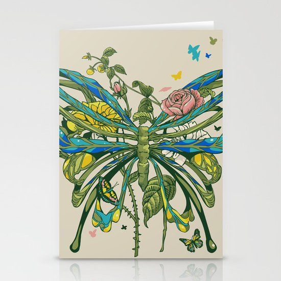 Lifeforms Stationery Card