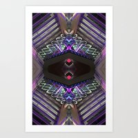 ODN 0215 (Symmetry Series) Art Print