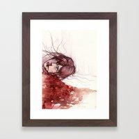 laceration Framed Art Print