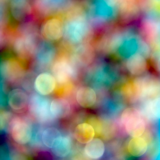 Bokeh Party Art Print