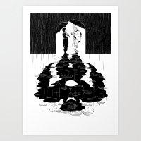 Drift compatible Art Print