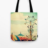 Get your ticket to ride. Tote Bag