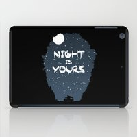 Night Is Yours iPad Case