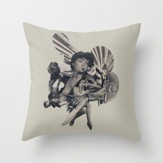 Leisure Burns Throw Pillow