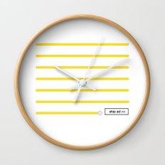 0:59 Wall Clock